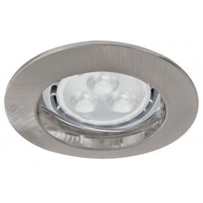 3er Set Premium Line LED, eisen (gebürstet), 230 V, GU10, 4 W