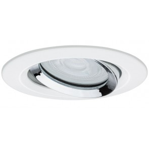 Premium, EBL LED, 1x Nova IP65 schwenkbar LED 1x7W 230V GU10 Ws matt-Chrom