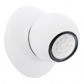 Norbello 3, LED, Schwenkbar, Weiß