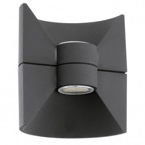 Redondo, IP44, inkl LED, Anthrazit
