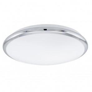 Manilva, LED,  Ø 30 cm, Chrom