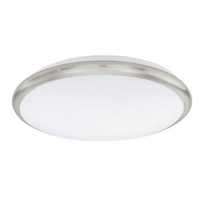 Manilva, LED, Ø 30 cm, nickel-matt