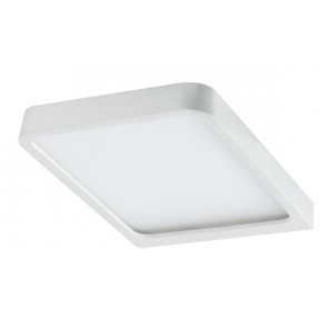 Möbel ABL Set Vane eckig LED 2x8W 15VA 230/12V 105x140mm Weiß matt/Alu