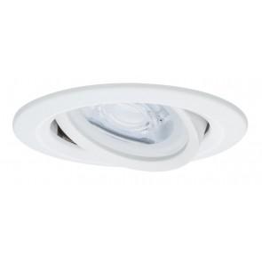 Premium, EBL LED, 3er Set Nova,rund schwb dim LED 3x7W 230V GU10 Weiß matt