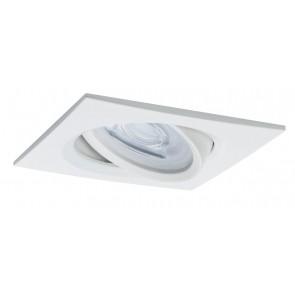 Premium, EBL LED, 3er Set Nova, eckig, schwenkbar, dimbar, 7W, GU10, Weiß matt