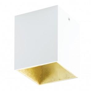 Polasso, LED, 10 x 10 cm, weiß-gold