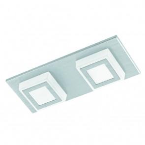 Masiano, LED, 2-flammig, metallisch