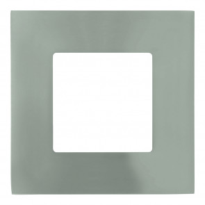 Fueva 1 8,5 x 8,5 cm nickel-matt 1-flammig quadratisch