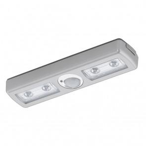 Baliola, LED, mit Schalter, mit Bewegungssensor, silber