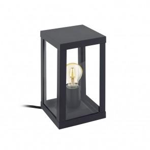 Alamonte 1, Höhe 27,5 cm, IP44, schwarz