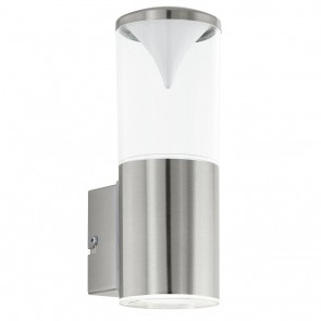Penalva, LED, Höhe 22,5 cm, IP44, metallisch