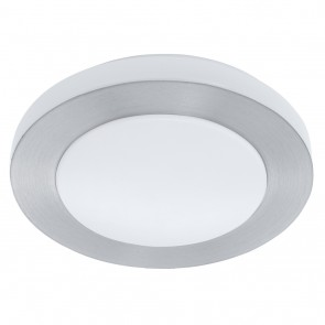 LED Carpi, Ø 30 cm, IP44, Aluminium