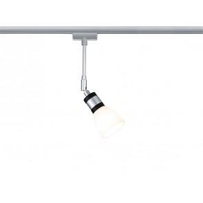 Paulmann URail System LED Spot Titurel II 1x2,2W G9 Chrom matt/Chrom 230V Met/Gls