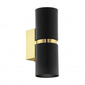 Passa, GU10, IP20, rund, gold-schwarz