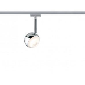 URail System LED Spot Capsule II 1x6W Chrom matt/Chrom 230V Metall dimmbar