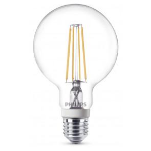 LED Classic E27, 7W, 806lm, warmweiß 2700K, klar, dimmbar