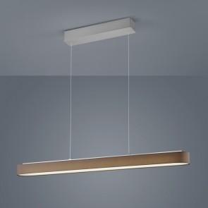 Bora, LED, Länge 101,5 cm, Mocca
