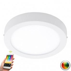 Fueva-C, LED, Ø 30 cm, Farbwechsel, CCT, Weiß