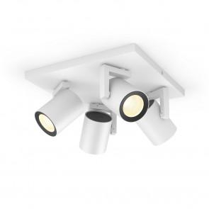 Argenta White & Color Ambiance, 4 flg., weiß, 3x350lm, 2.000–6.500 K