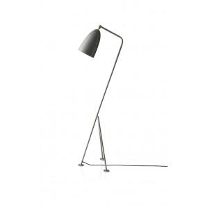 Gräshoppa Floor Lamp, Blue Grey shade