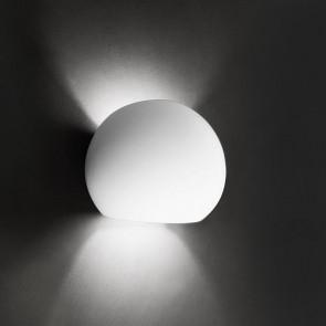 Osano Höhe 15 cm weiß 2-flammig kugelförmig