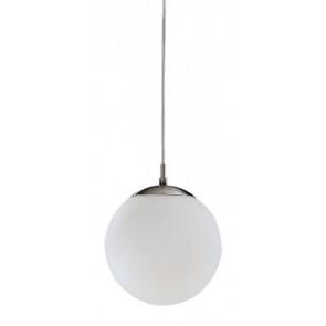 Rondo, E27, IP20, Ø 20 cm, Höhe 110 cm, weiß