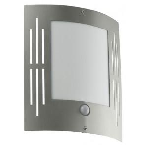 EGLO City, 23,5x 26 cm, IP44, inkl LED, Sensor