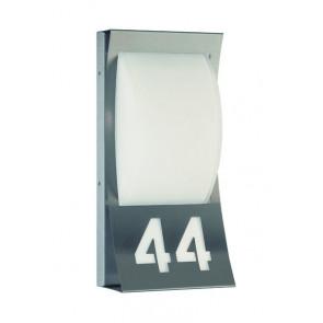 Numbo Höhe 37,5 cm metallisch 1-flammig halbrund