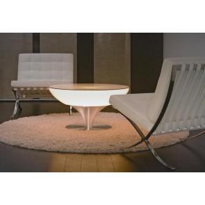 moree Lounge 45 Indoor, E27, Höhe 45 cm, Ø 84 cm, inkl Glasplatte