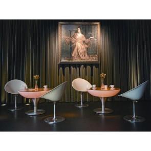 moree Lounge 55 LED Pro Accu, Farbwechsel, Höhe 55 cm, Ø 84 cm, Fernbedienung, inkl Glasplatte