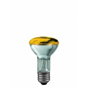 R63 E27 40W 6,3 cm, gelb