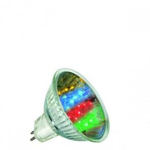 GU5.3 1W 24°, 7 Colors