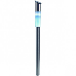 Mallorca Höhe 70 cm metallisch 1-flammig zylinderförmig