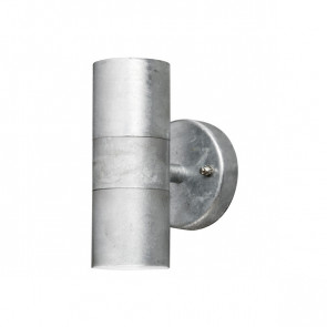 Modena Höhe 17 cm metallisch 2-flammig zylinderförmig