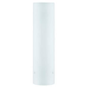 2Easy Glas Livo Höhe 28 cm weiß zylinderförmig