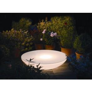 moree Lounge Variation Outdoor, E27, Höhe 18 cm, Ø 84 cm, inkl Glasplatte