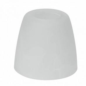 Ersatzglas zu Milos Höhe 6,4 cm weiß rund