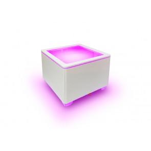 Ora LED Accu, white, inkl Glasplatte