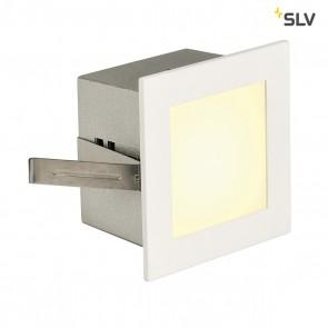 FRAME BASIC LED Einbauleuchte, eckig, mattweiss, warmweisse LED