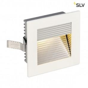 FRAME CURVE LED Einbauleuchte, eckig, mattweiss, warmweisse LED