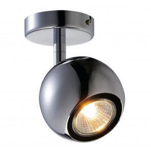Light Eye 1 Ø 8,9 cm chrom 1-flammig kugelförmig