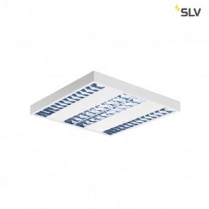 RASTO, Deckenleuchte, 4-flammig, LED, 4000K, weiß, L/B/H 60,4/60,4/5,8 cm
