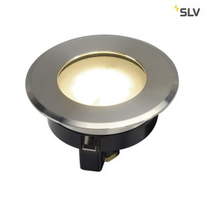 Dasar Flat 80, LED, IP67, 3000K, Edelstahl