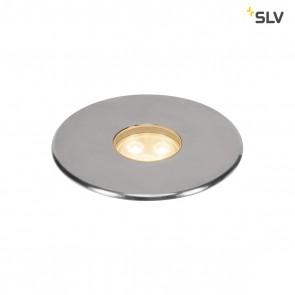 Dasar 100 Premium LED, rund, Alu/Edelstahl, 24°