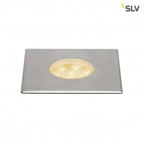 Dasar 150 Premium LED, quadratisch, Alu/Edelstahl, 60°
