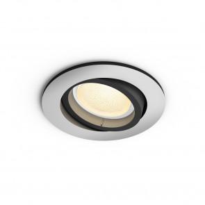 Centura White & Color Ambiance, rund, aluminium, 350lm, 2.000–6.500 K