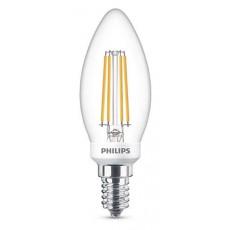 LED E14, 5,0W (ersetzt 40W), warmweiß, klar, dimmbar