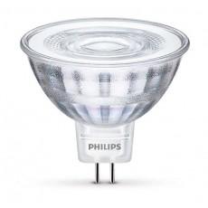 LED GU5.3 (MR16) 5W (ersetzt 35W), 345lm, warmweiß 2700K